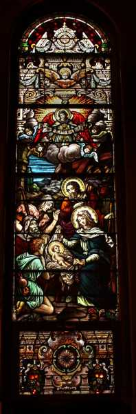 Church-Window-The-Nativity