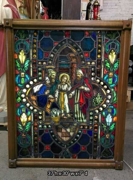 Used-Church-Items-Stained-glass-3