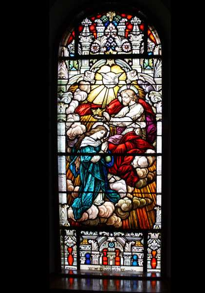 Stained Glass Window Church 10