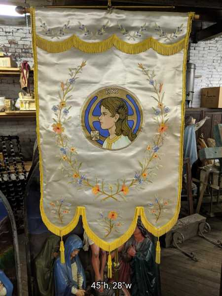 Vintage-Holy-Name-Society-Banner