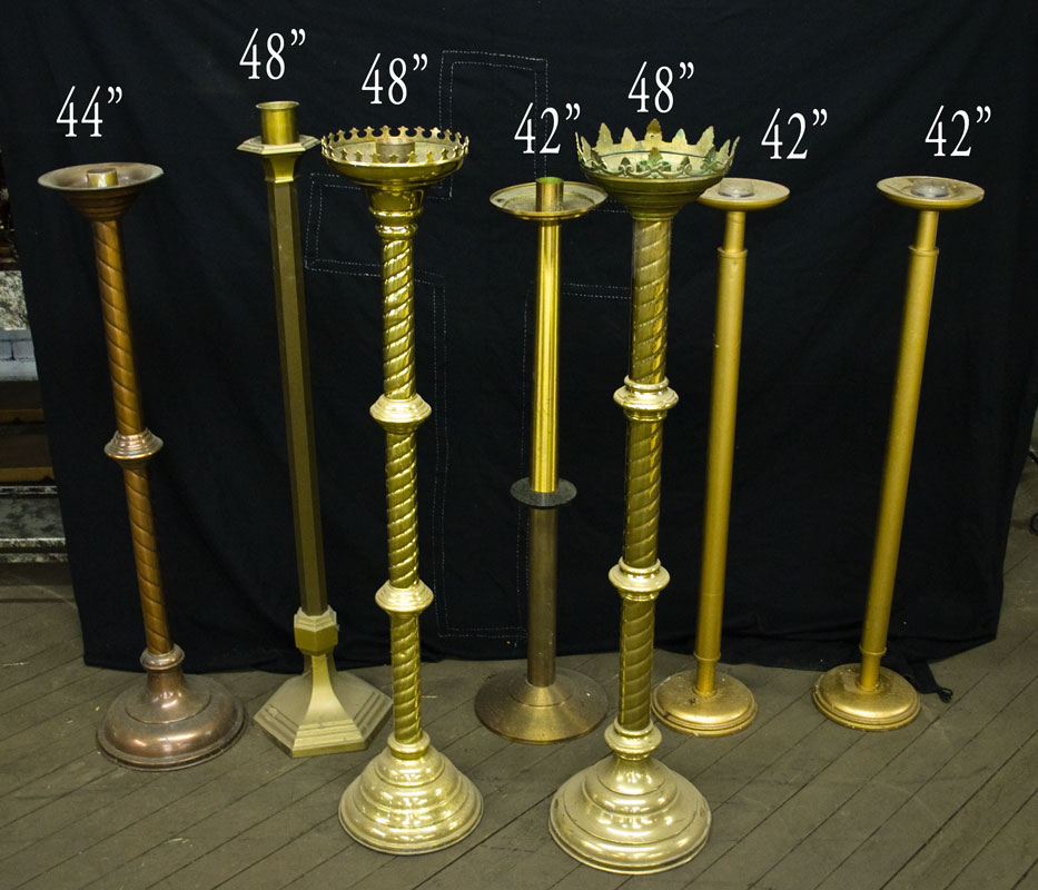 Candelabra Used Church Items