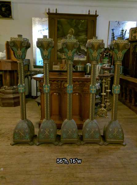 Paschal-Tall-Carved-Wooden-Candlesticks