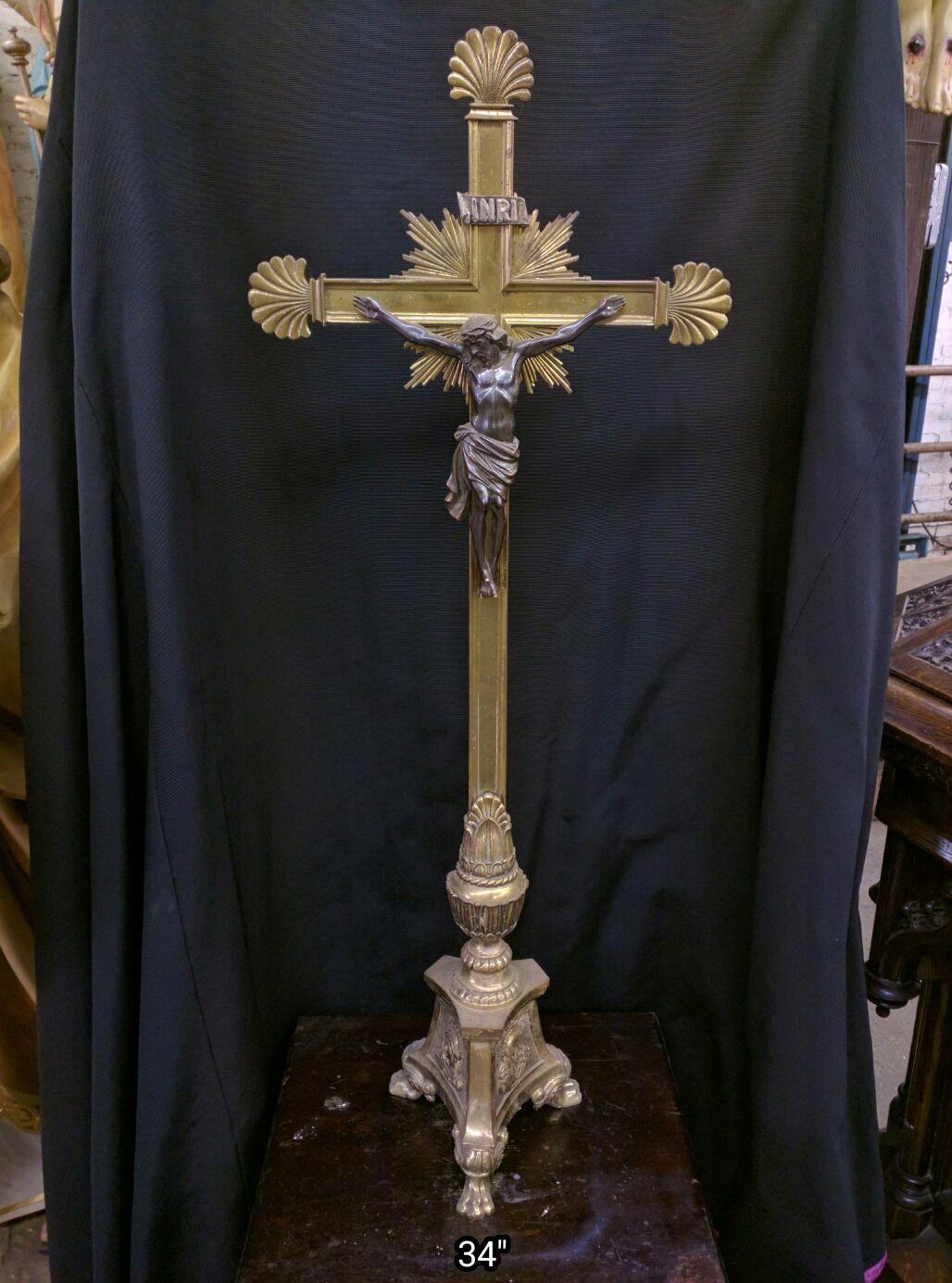 Crucifix Corpus Used Church Items