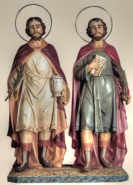 Saints-Cosmas-and-Damian-Church-Statues