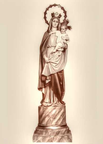 Our-Lady-of-the-Pillar-Blessed-Virgin-Mary-Statue