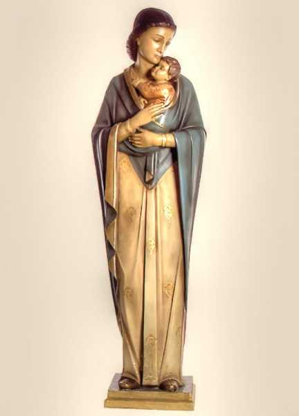 Virgin-Mary-with-Child-Statue
