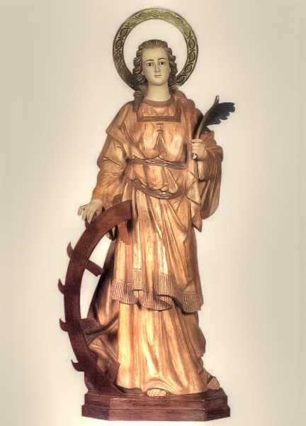 Saint-Catherine-of-Alexandria-Statue