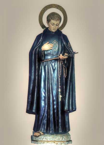 Saint-Gabriel-of-Our-Lady-of-Sorrows-Statue