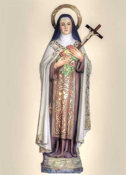 Saint-Teresa-of-Lisieux-The-Little-Flower-Statue