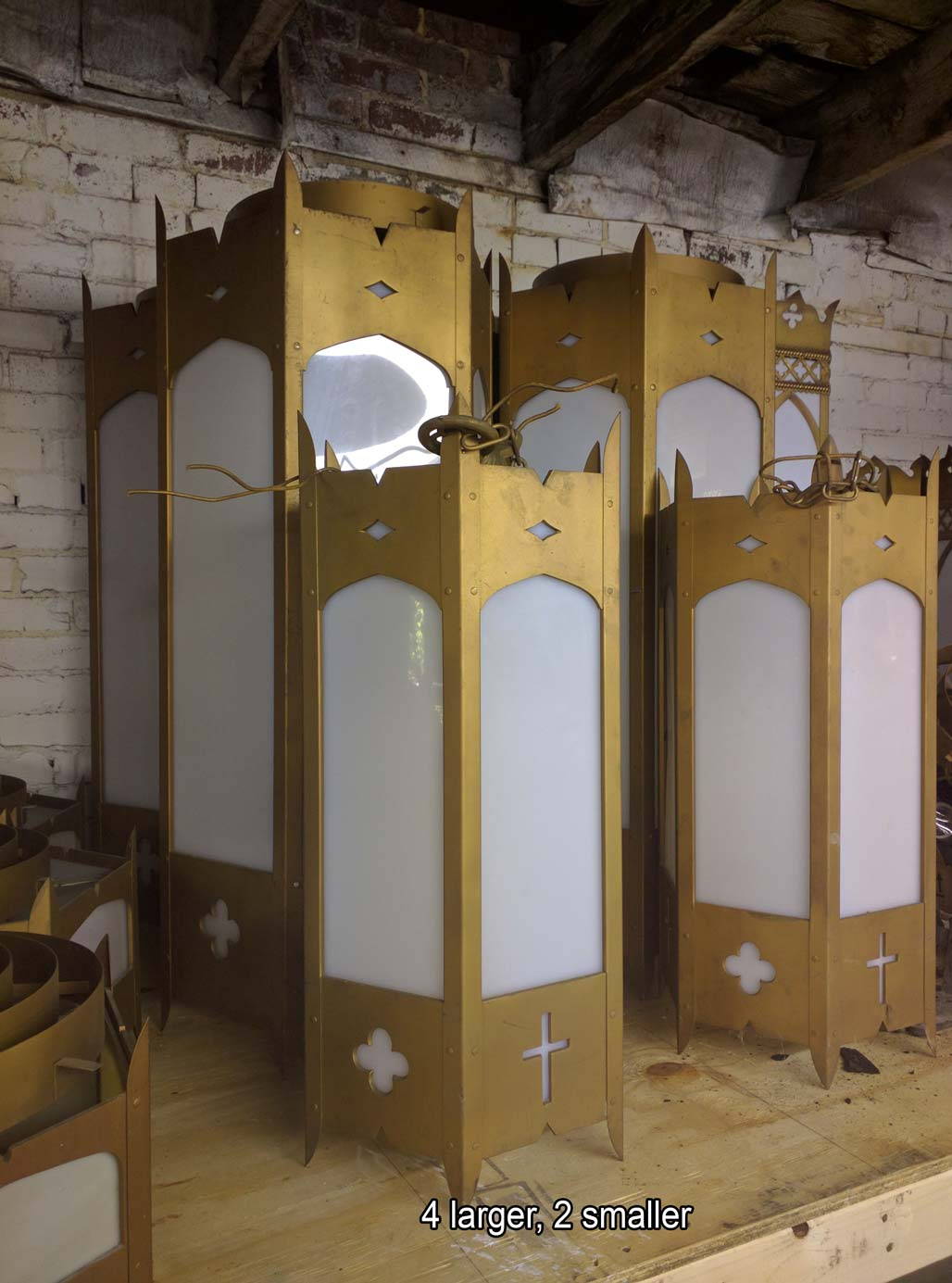 Church Antique Light Fixtures