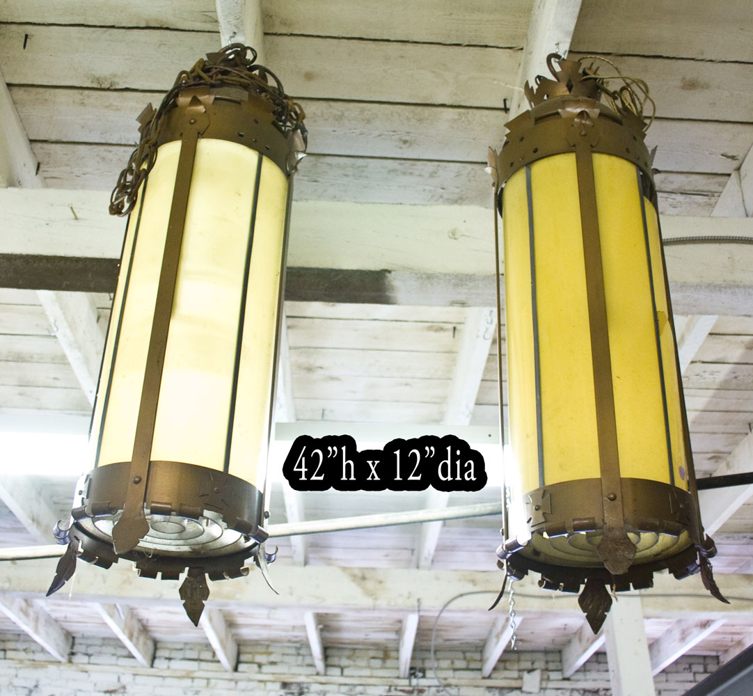 Pair Of Simple Church Lights For Sale: Used Church Items