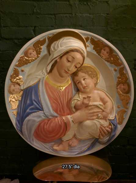 Blessed-Mother-and-Christ-Child-with-Angels