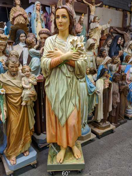 Finest-Saint-Maria-Goretti-Parish-Statue