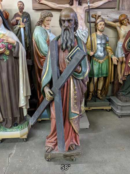 Saint-Andrew-Early-Carved-Wood-Statue
