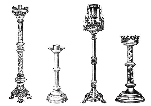 Candlestick Clipart