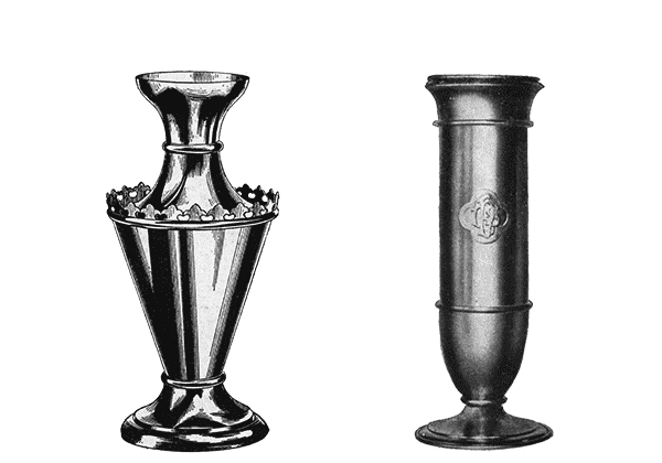 Vase Flower Used Church Items